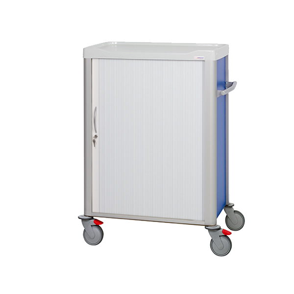 1150 cart with shutter door and phenolic base